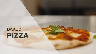Bake pizza in the RATIONAL SelfCookingCenter