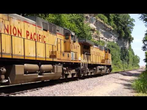 Part 2: Union Pacific Railroad - St. Louis area action, Spring/Summer 2016