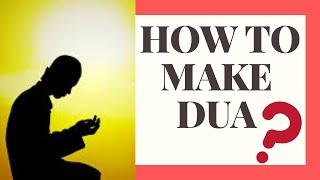 How To Make Dua - Simple  Steps To Follow ...