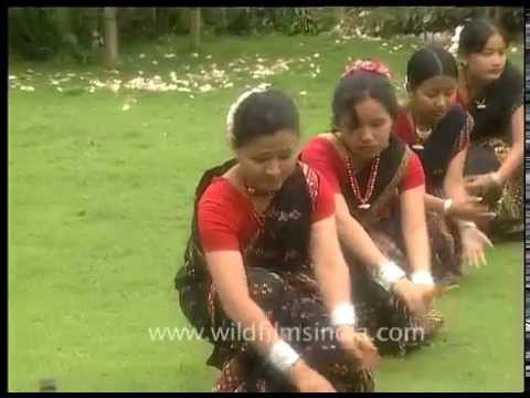 Gumrag folk dance from Assam in North-east India - Mishing tribe