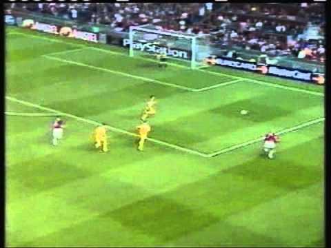 2000 September 13 Manchester United England 5 Anderlecht Belgium 1 Champions League