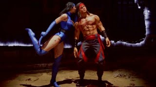 Showcase the new klassic Kitana skin -  Mortal kombat 11
