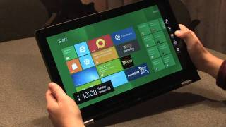 Lenovo IdeaPad Yoga hands-on video
