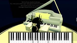 Roblox Piano| Billie Eilish - Listen before I go| FULL| (Notes In The Description)