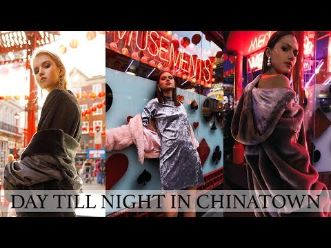 Day To Night Fashion Editorial Photoshoot...