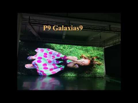 Flexible Curtain Display Galaxias 9 Applied in Outdoor Advertising Truck