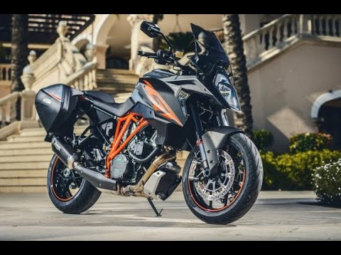 2017 ktm 1290 super duke gt | orange colorway - youtube