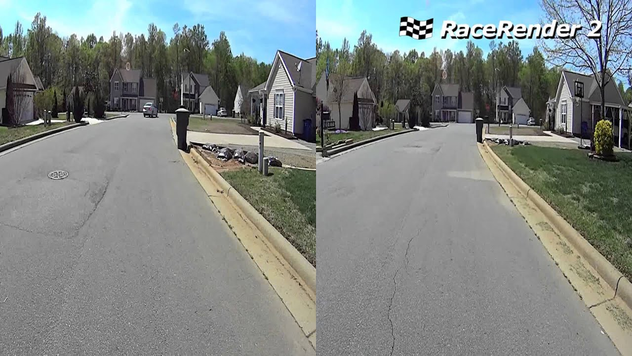 Sony HDR-AS10 Action Cam - Bicycling Frame Rate Comparison (30 fps ...