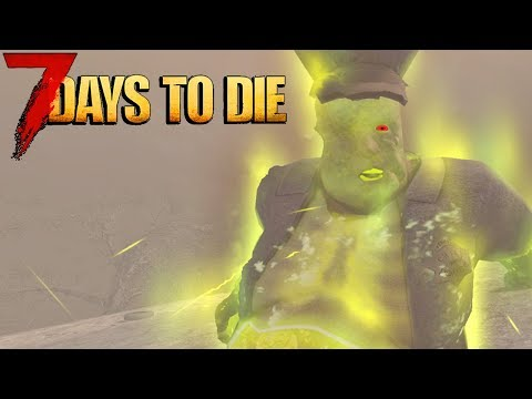 🔴 The HARDEST 7 Days To Die ZOMBIE!! 🔴 7 Days To Die Modded LIVE!