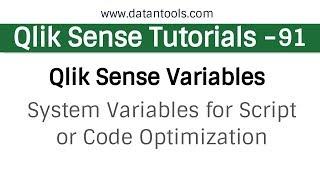 Categorias de vídeos Qlik Sense Training Videos