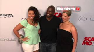 Terry Crews and family arrive at Scary Movie Los Angeles premiere