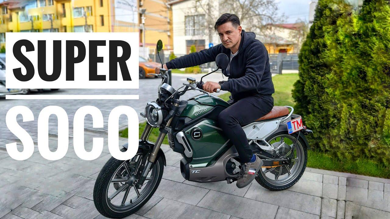 Super SOCO TC - Un café racer electric - Cavaleria.ro