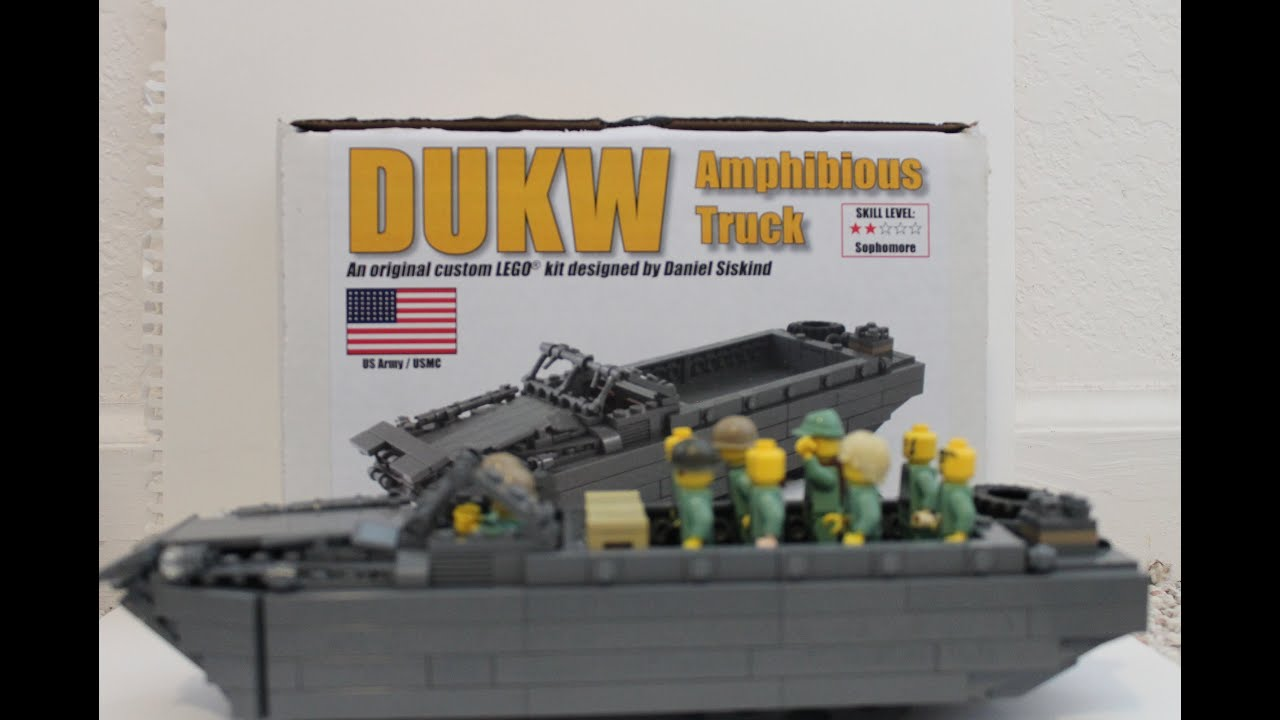 Brickmania DUKW Kit Review