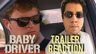 BABY DRIVER - Official Trailer Reaction