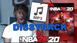 MY 2K DISSTRACK IS IN NBA 2K20`s SOUNDTRACK!?