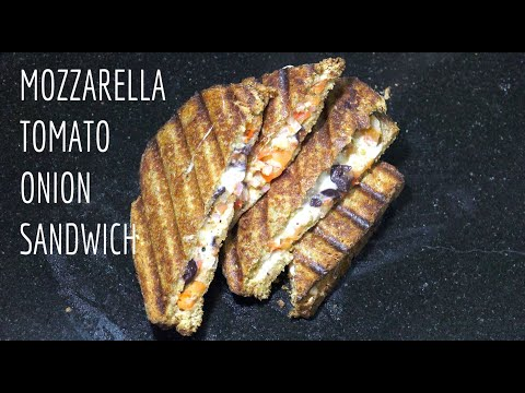 Cheese Sandwich - Mozzarella Tomato Oregano - Grilled Cheese Toasted - Youtube from YouTube · Duration:  4 minutes 55 seconds