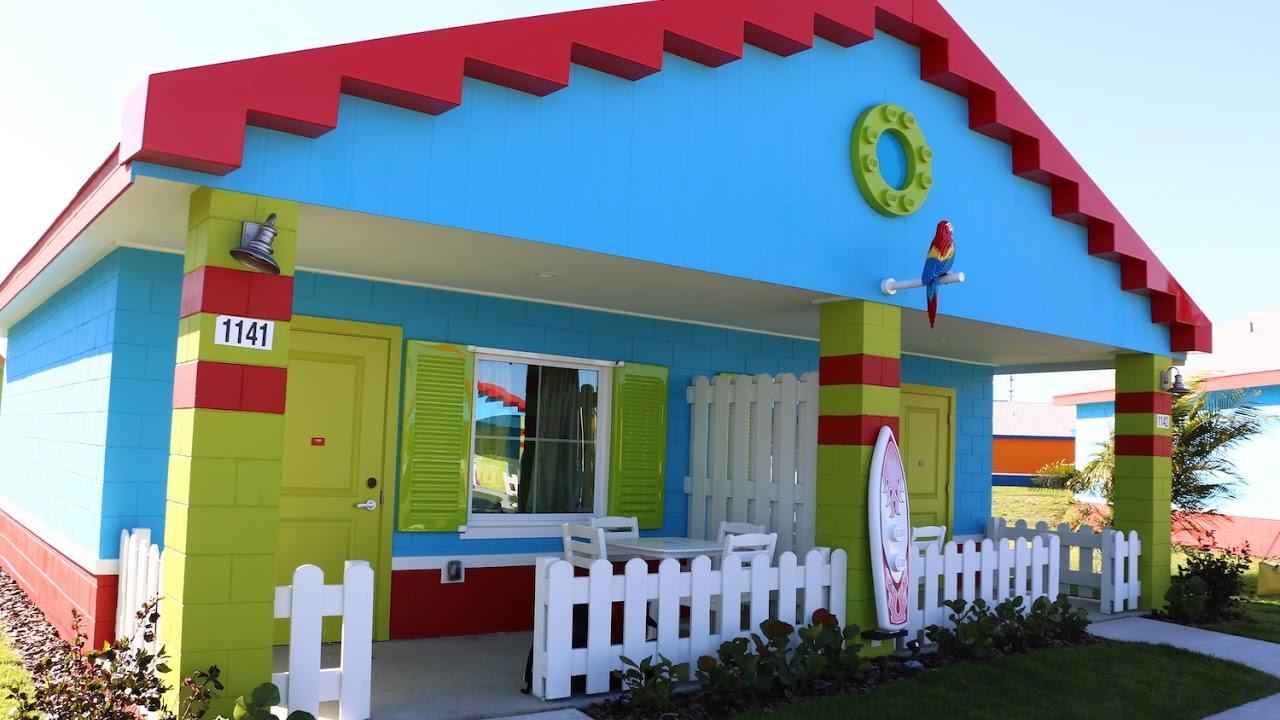 New Legoland Beach Retreat Bungalow Room Tour Legoland