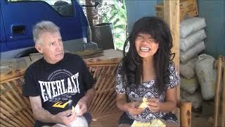 FILIPINA WIFE FORCE HER FOREIGNER HUSBAND TO EAT JACKFRUIT