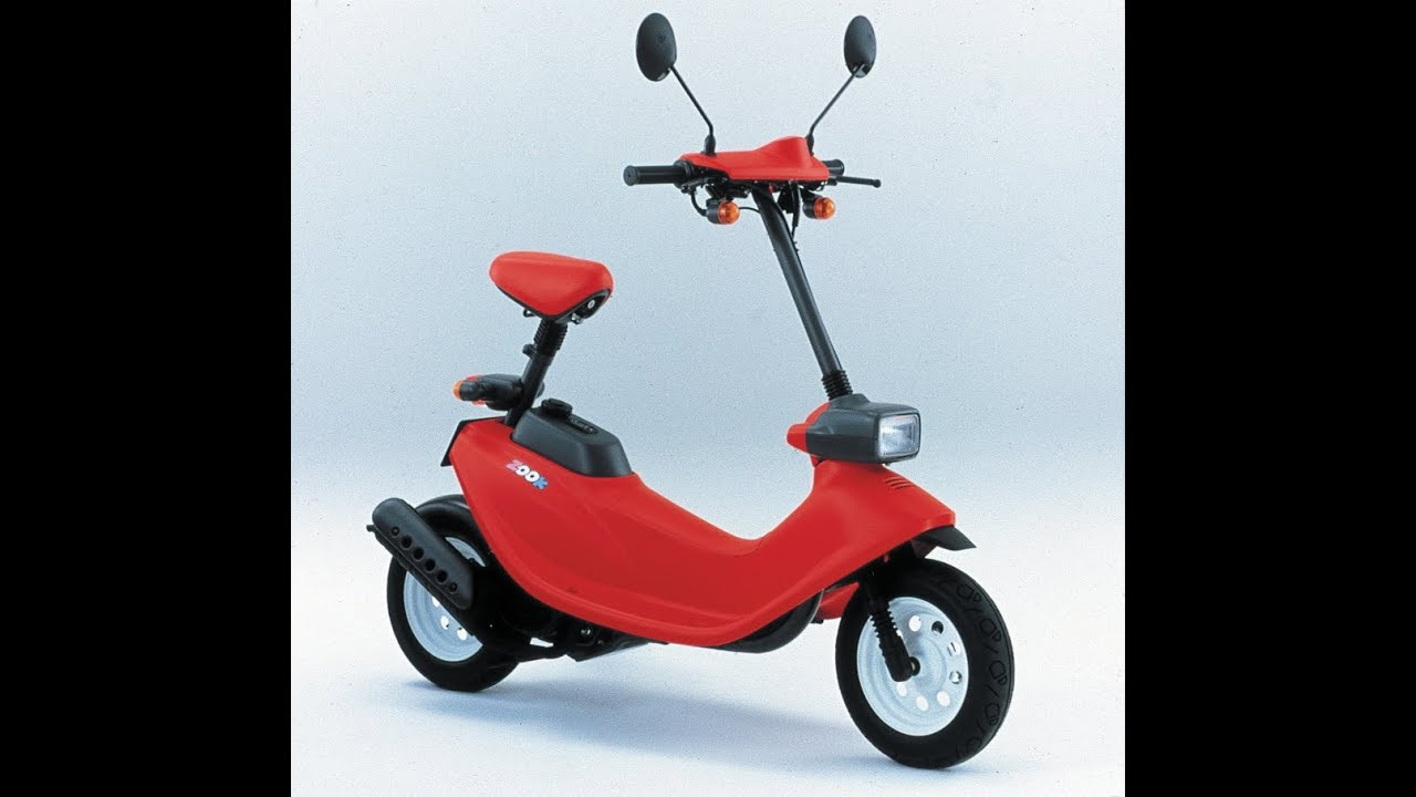 honda zook 50cc 2 stroke engine mini scooter youtube. Black Bedroom Furniture Sets. Home Design Ideas