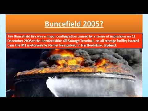 Buncefield Fire 2005