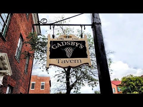 Tour of Gadsby's Tavern Museum in Alexandria, Virginia