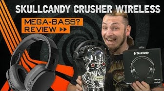 SKULLCANDY CRUSHER WIRELESS 🎧 Brachialer Bass? [Review, Technik, German, Deutsch]