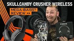 SKULLCANDY CRUSHER WIRELESS 🎧 Brachialer Bass? [Review, Technik, German, Deutsch]
