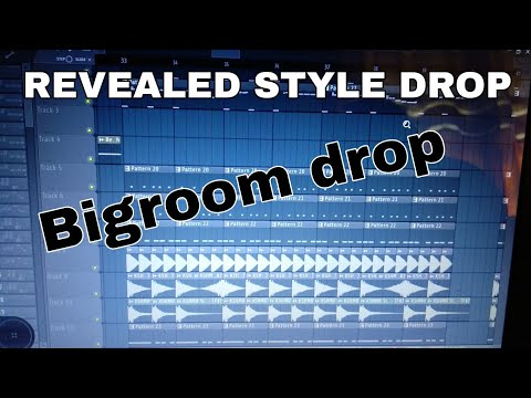 Revealed recording style drop| bigroom drop flp | steven vegas,olly james, hardwell,kshmr|