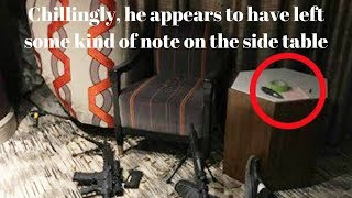 Photos emerge of Las Vegas shooter Stephen Paddock's body and there is a NOTE?