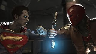 Injustice 2 : Bizarro Vs Red Hood - All Intro/Outros, Clash Dialogues, Super Moves