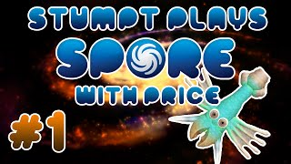 Stumpt Plays - Spore - #1 - The Cell Saga (PC 1080p Gameplay)
