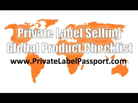 Private Label Passport   Global Checklist