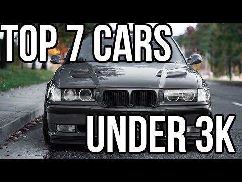 BEST 7 Cars Under 3k