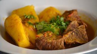 Receta de Sudado de Carne Colombiano | Cómo Hacer Un Sudado de Carne | SyS