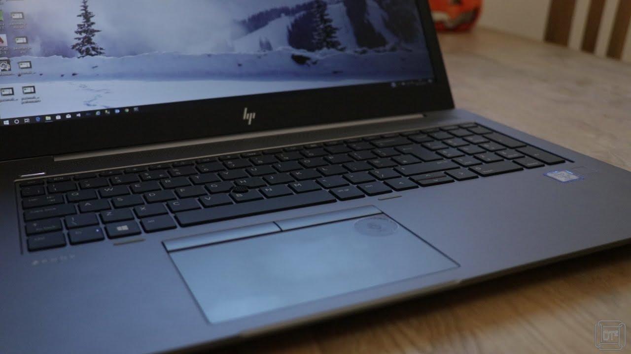 Review of HP ZBook 15u G5 + HP USB-C DOCK