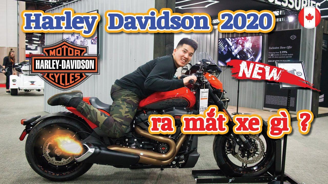 Motoshow Tour Tập 7 | Harley ra mắt xe gì năm 2020 ? | Giá xe Harley ở thị trường Canada | Vlog #39