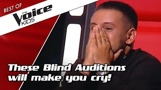 Download lagu TOP 10 MOST EMOTIONAL Blind Auditions in The Voice Kids