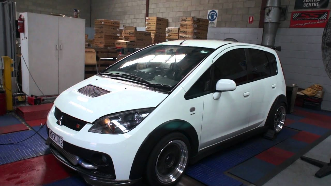 Ralliart Colt Dyno Run Youtube
