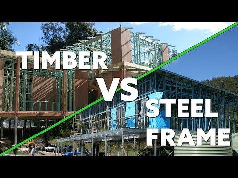 Steel Kit Homes vs Timber Frame Kit Homes