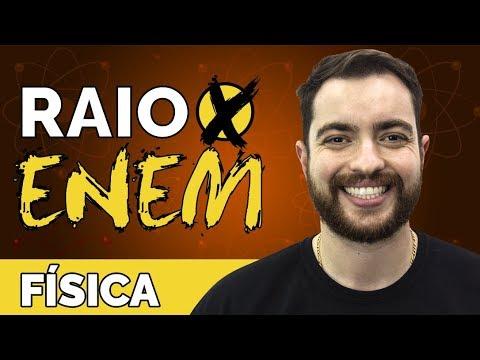Raio X ENEM: Os temas mais cobrados de Física - Prof. Artur Neto