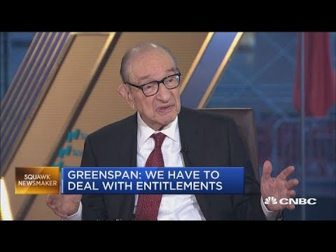 Greenspan: The financial community doesn't care about bookkeeping, they're going to confront inflati