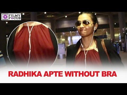Radhika Apte Spotted At Mumbai Airport And...