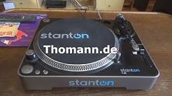 Perinteinen levysoitin Stanton T.62