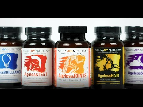 Ageless Nutrition - All-Natural Supplements For Healthy Lifestyles