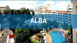 aLBA 4* Болгария Солнечный Берег обзор  отель АЛЬБА 4* Солнечный Берег видео обзор