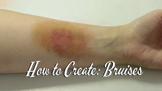 Halloween Tutorial: How to Create Realistic Bruises Thumbnail