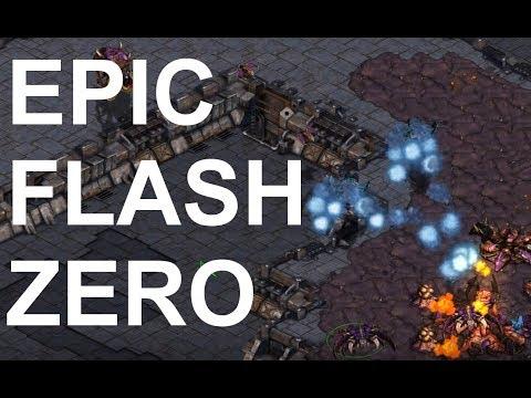 EPIC - Flash (T) V Zero (Z) On Electric Circuit - StarCraft  - Brood War REMASTERED