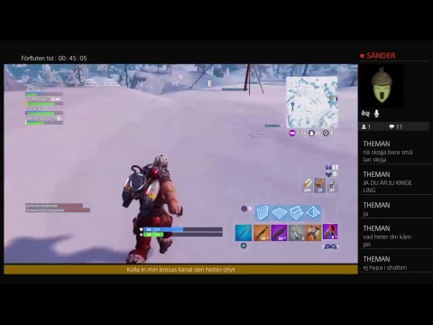 Fortnite sason 7 Svenska