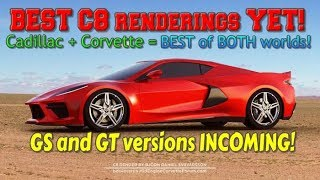 NEWS on the C8 reveals 3 models of MID-ENGINE Corvettes! Manta-Ray INBOUND!