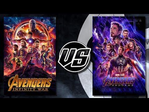 Avengers Infinity War VS Endgame